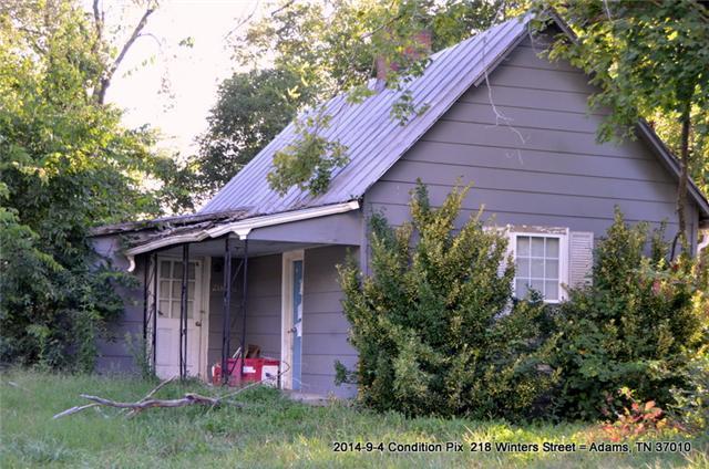 218 Winters St, Adams, TN 37010