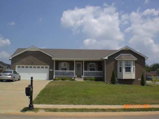 Rental Homes for Rent, ListingId:32218180, location: 3117 Twelve Oaks Blvd Clarksville 37042