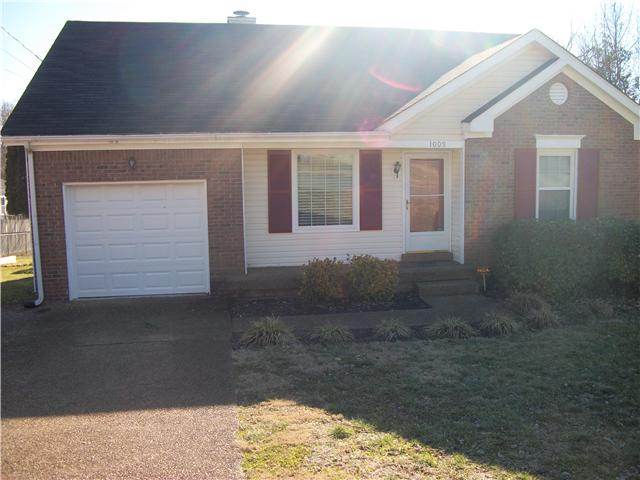 Rental Homes for Rent, ListingId:32222603, location: 1009 Cedar Creek Village Rd. Mt Juliet 37122