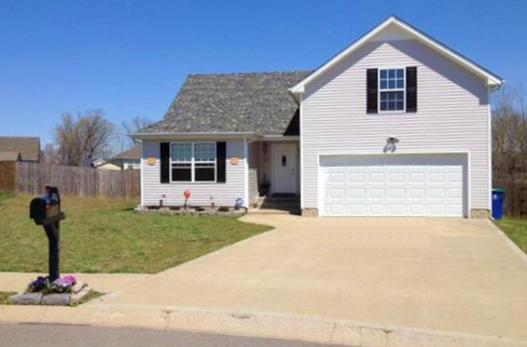 Rental Homes for Rent, ListingId:32210333, location: 1493 FREEDOM CT Clarksville 37042