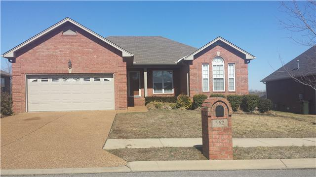 Rental Homes for Rent, ListingId:32222231, location: 662 Community Ct Gallatin 37066