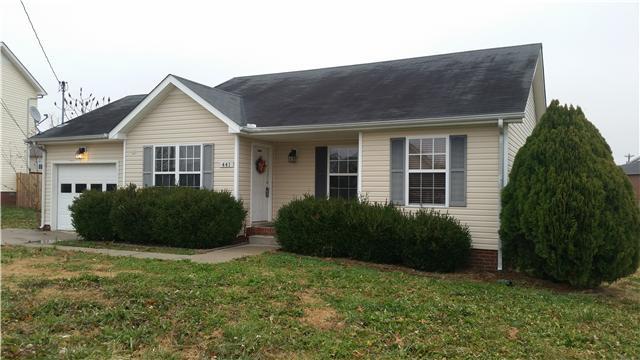 Rental Homes for Rent, ListingId:32218202, location: 441 Cranklen Cir Clarksville 37042