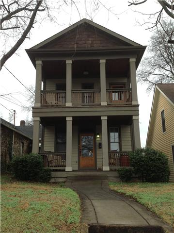 Rental Homes for Rent, ListingId:32217875, location: 1016 Jackson Street Nashville 37208