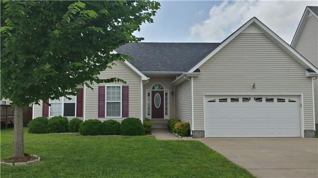 Rental Homes for Rent, ListingId:32675336, location: 3768 N Jot Dr. Clarksville 37040