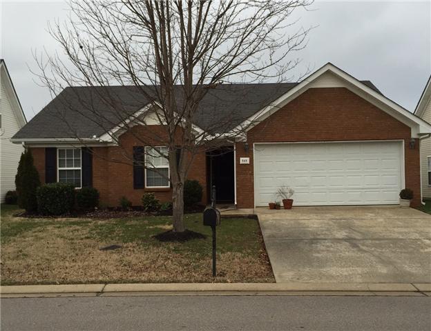 Rental Homes for Rent, ListingId:32817708, location: 849 Aztec Drive Murfreesboro 37128