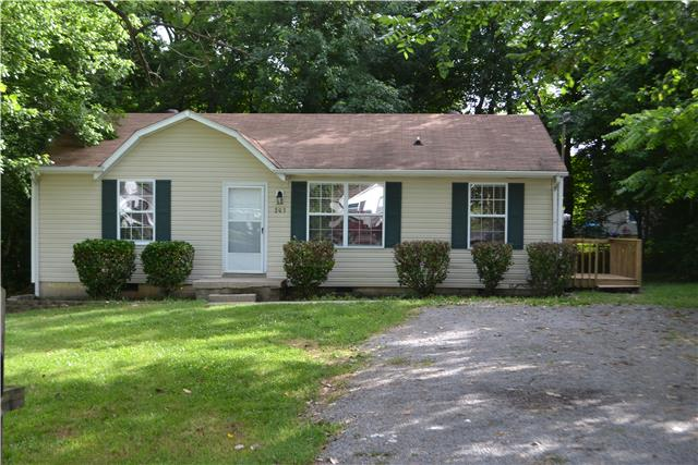 Rental Homes for Rent, ListingId:33004300, location: 203 Creekside Ct Clarksville 37042