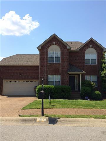 Rental Homes for Rent, ListingId:33103727, location: 2117 Forge Ridge Cir. Nashville 37217