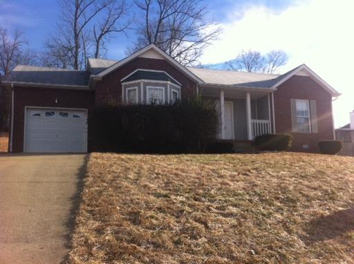Rental Homes for Rent, ListingId:33208563, location: 529 Barney Lane Clarksville 37042