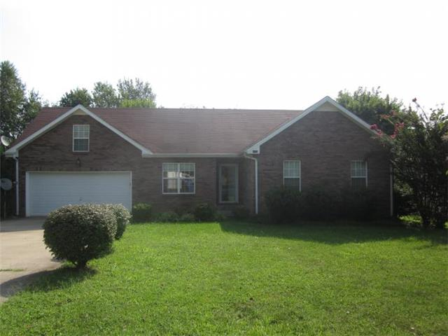 Rental Homes for Rent, ListingId:33387293, location: 3140 Arrow Lane Clarksville 37043