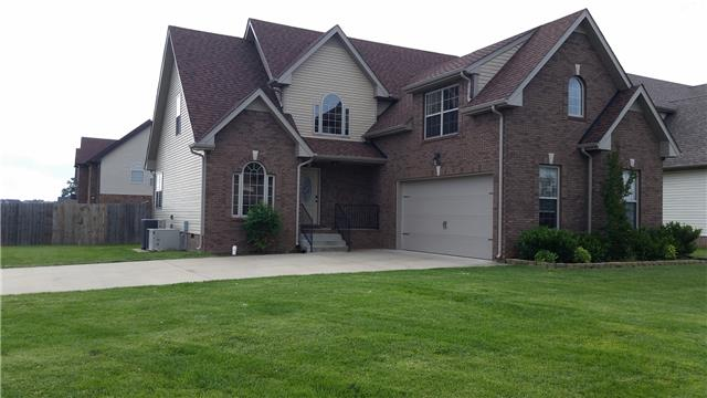 Rental Homes for Rent, ListingId:33467008, location: 1484 Apache Way Clarksville 37042