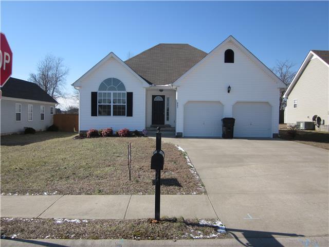 Rental Homes for Rent, ListingId:33897515, location: 880 Cindy Jo Ct Clarksville 37040