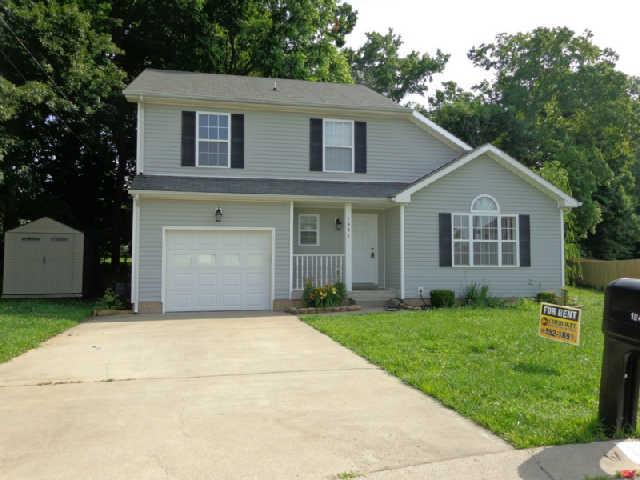 Rental Homes for Rent, ListingId:34067554, location: 1447 ADDISON Dr. Clarksville 37042
