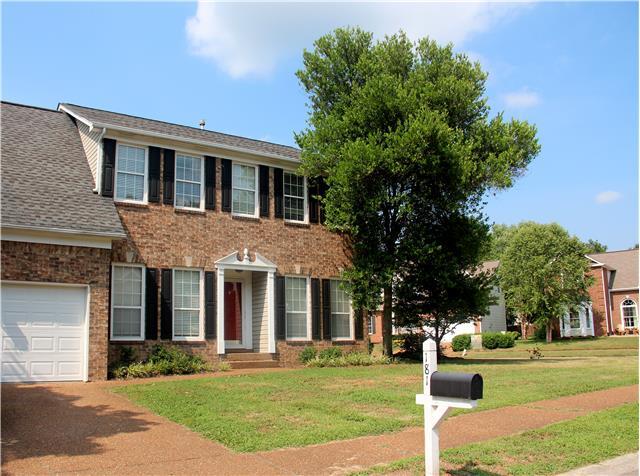 Rental Homes for Rent, ListingId:34505555, location: 181 Cavalcade Cir Franklin 37069