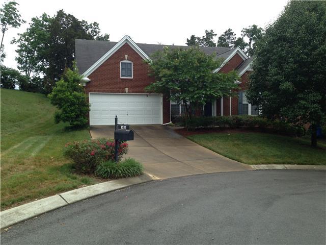 Rental Homes for Rent, ListingId:34598155, location: 1533 Gesshe Brentwood 37027