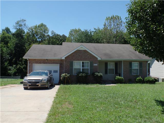 Rental Homes for Rent, ListingId:34693322, location: 427 Cranklen Circle Clarksville 37042