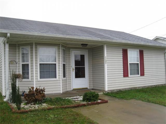 Rental Homes for Rent, ListingId:34736651, location: 1131 Timothy Avenue Oak Grove 42262