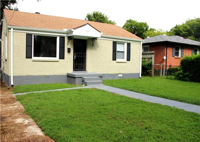 Rental Homes for Rent, ListingId:34974440, location: 1702 17th Ave Nashville 37208