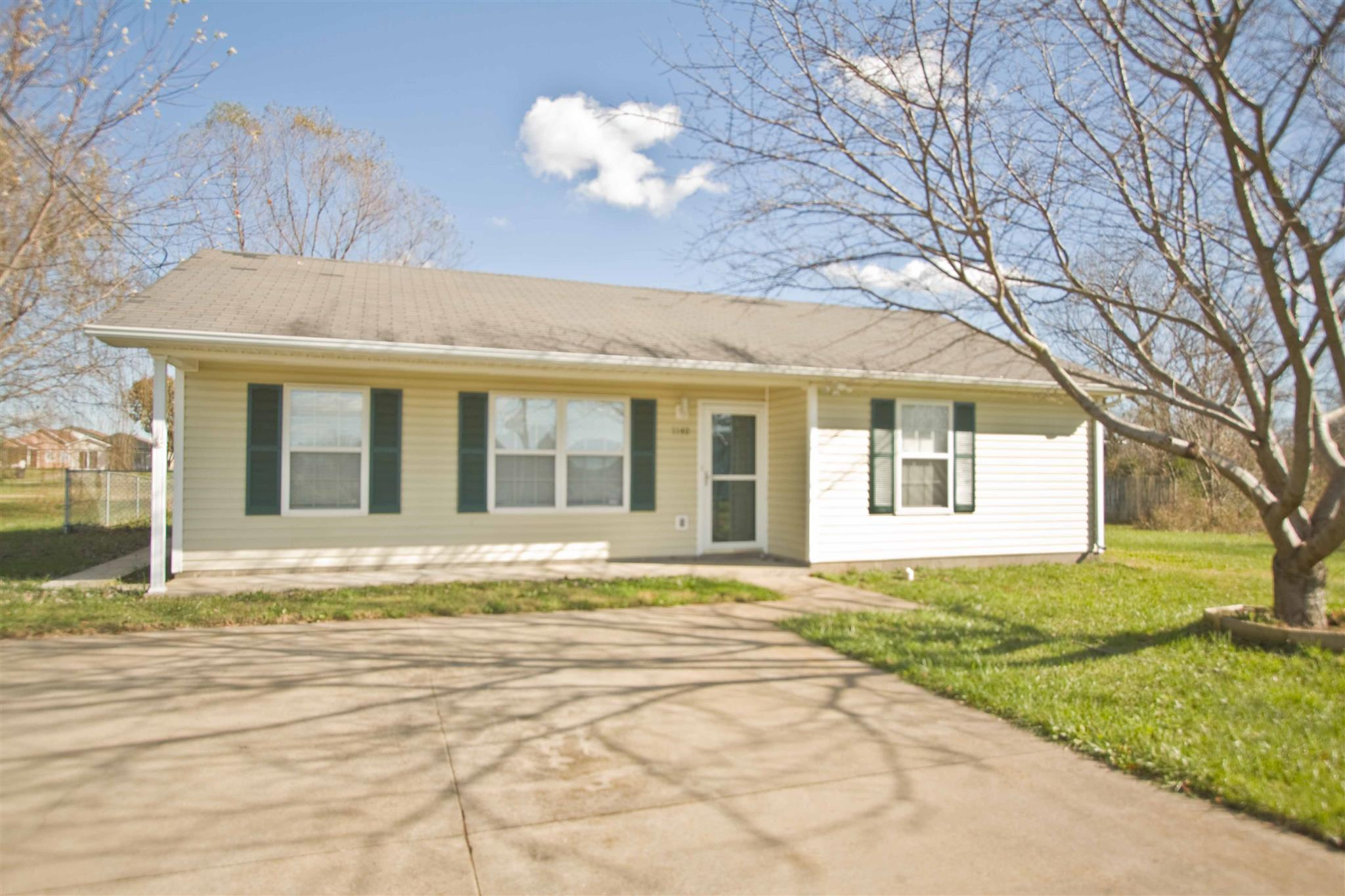 Rental Homes for Rent, ListingId:35323516, location: 1140 Timothy Avenue Oak Grove 42262