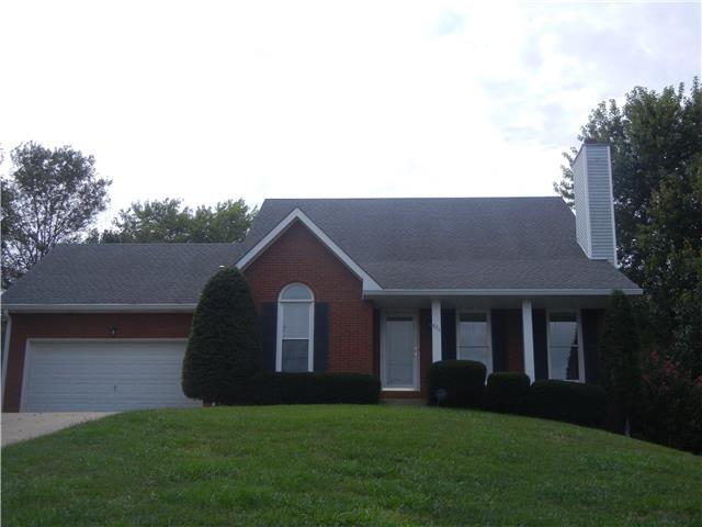 Rental Homes for Rent, ListingId:35614325, location: 824 Creek Stone Dr Clarksville 37040