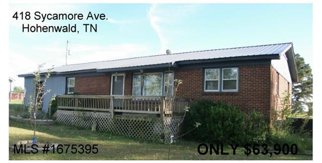 418 Sycamore Ave, Hohenwald, TN 38462