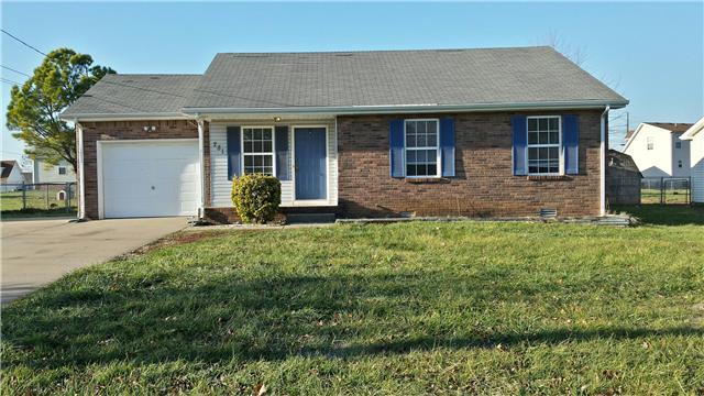 Rental Homes for Rent, ListingId:36581261, location: 281 Audrea Clarksville 37042