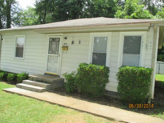 Rental Homes for Rent, ListingId:36605440, location: 614 Gracey Ave. Clarksville 37040