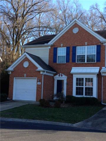 Rental Homes for Rent, ListingId:36744838, location: 601 Old Hickory Blvd. # 18 Brentwood 37027