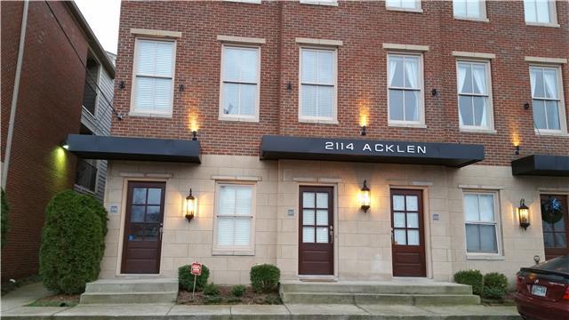 Rental Homes for Rent, ListingId:36814707, location: 2114 Acklen Ave Unit 308 Nashville 37212