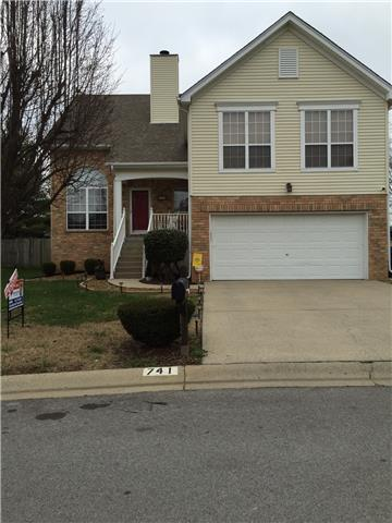 Rental Homes for Rent, ListingId:36902660, location: 741 Sweetwater Circle Old Hickory 37138