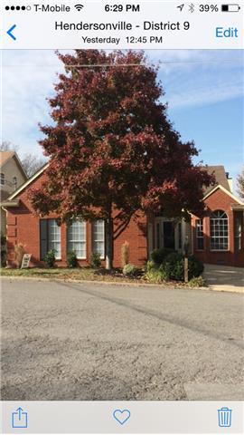 Rental Homes for Rent, ListingId:37223725, location: 225 Cherry Hill Drive Hendersonville 37075