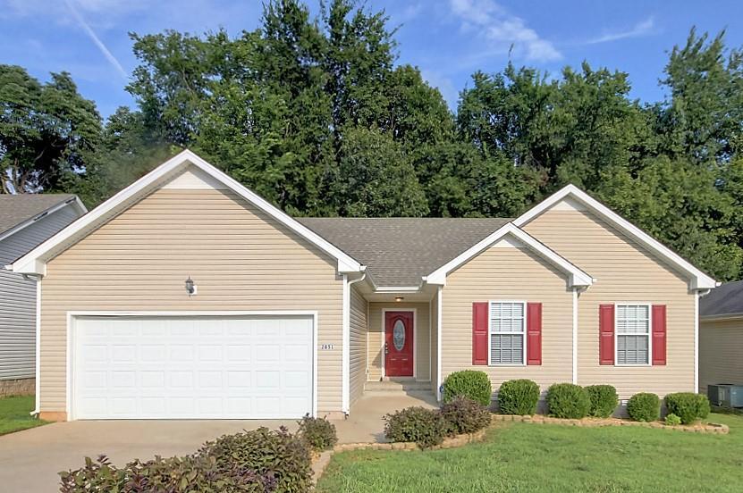 2851 Teakwood Dr, Clarksville, TN 37040