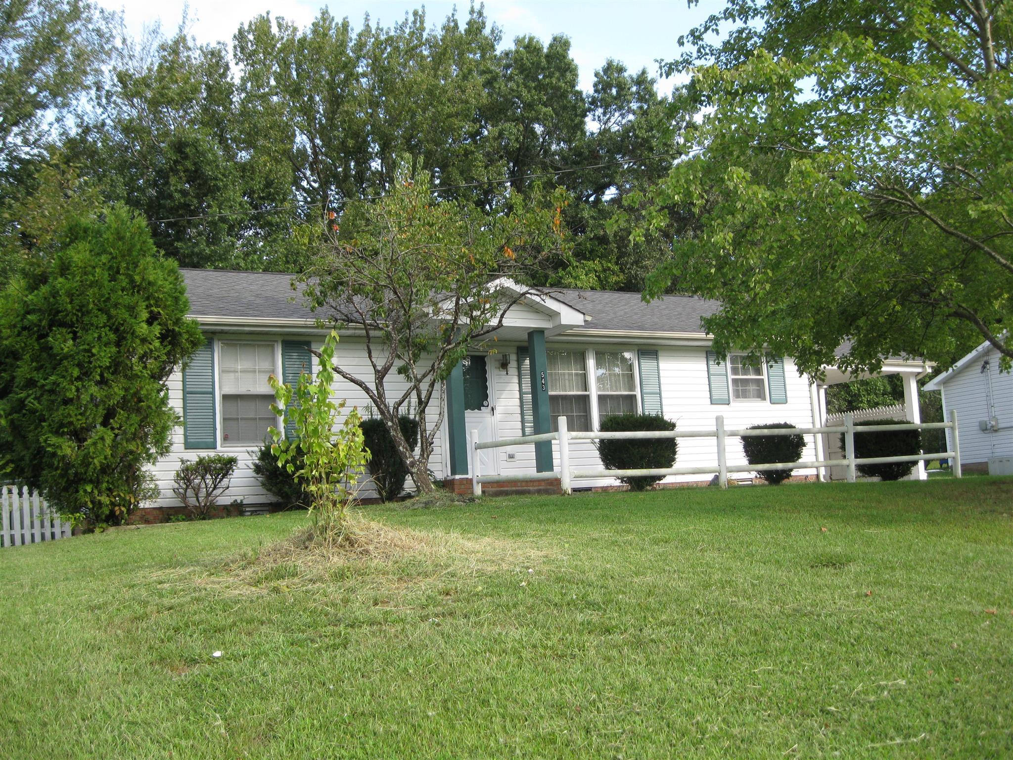 543 Donna Dr, Clarksville, TN 37042