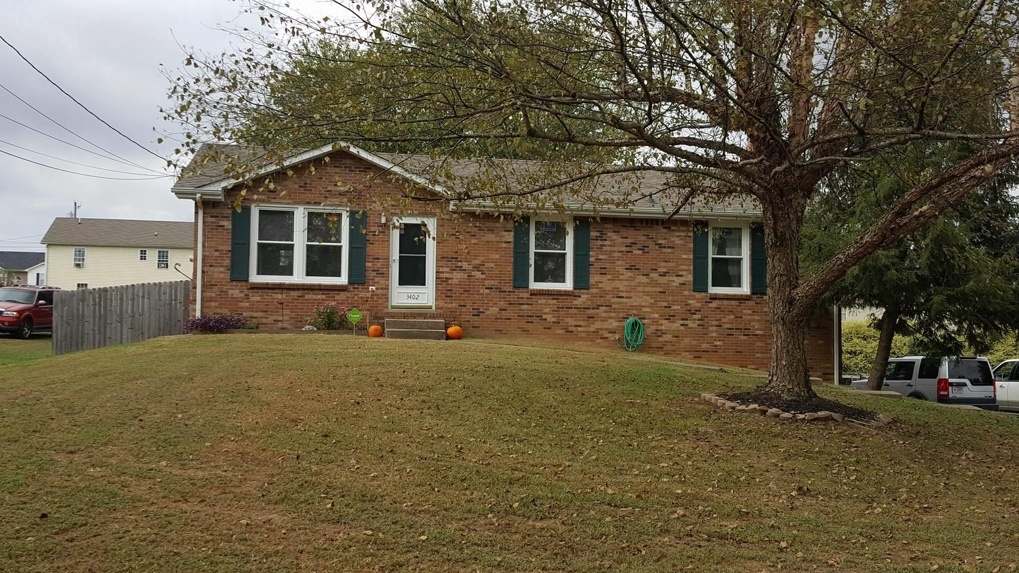 3402 Allen Rd, Clarksville in Montgomery County County, TN 37042 Home for Sale