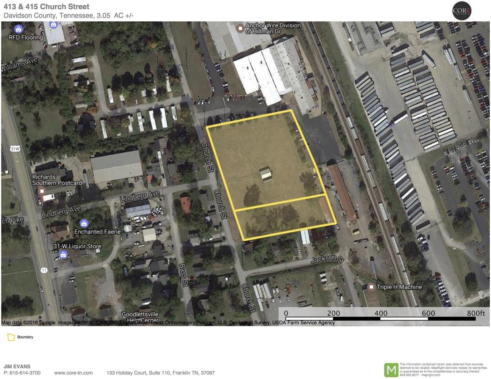 Image of  for Sale near Goodlettsville, Tennessee, in Davidson County: 3.05 acres