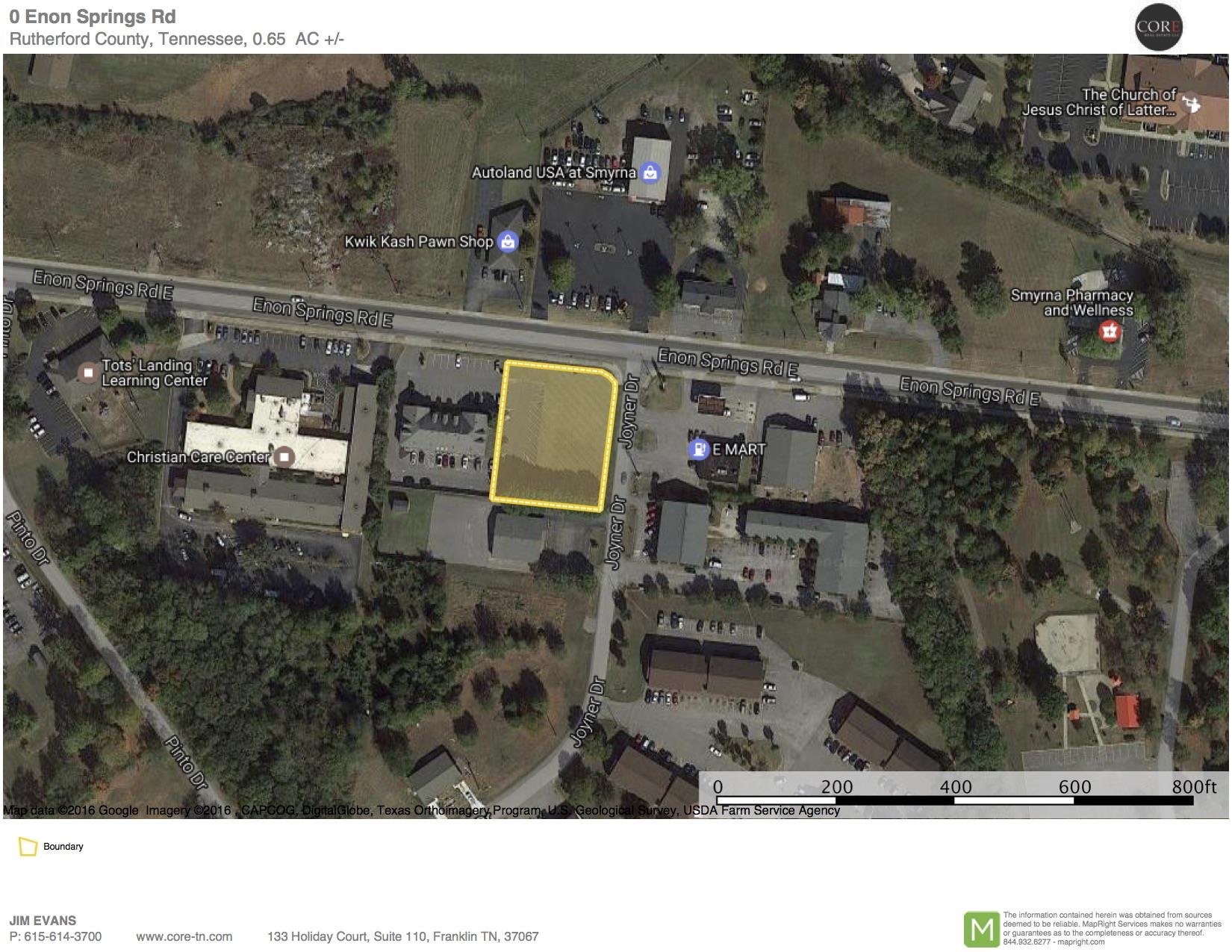 Image of  for Sale near Smyrna, Tennessee, in Rutherford County: 0.65 acres