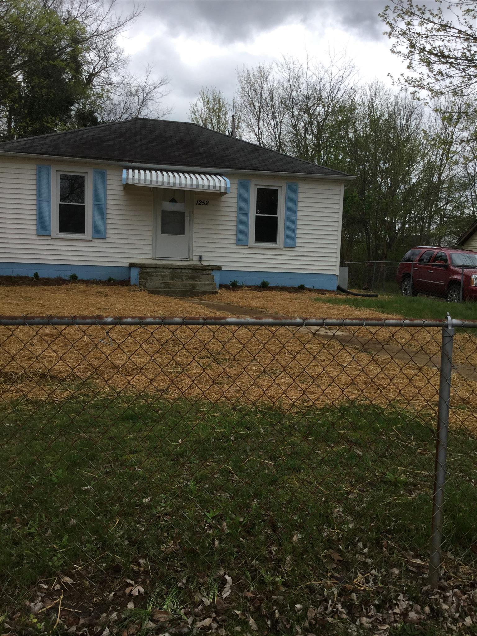 Photo of 1252 Daniel St  Clarksville  TN