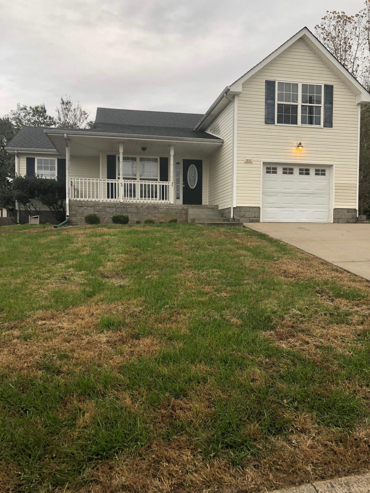 2833 Rome Ln, Fort Campbell in Montgomery County County, TN 37040 Home for Sale