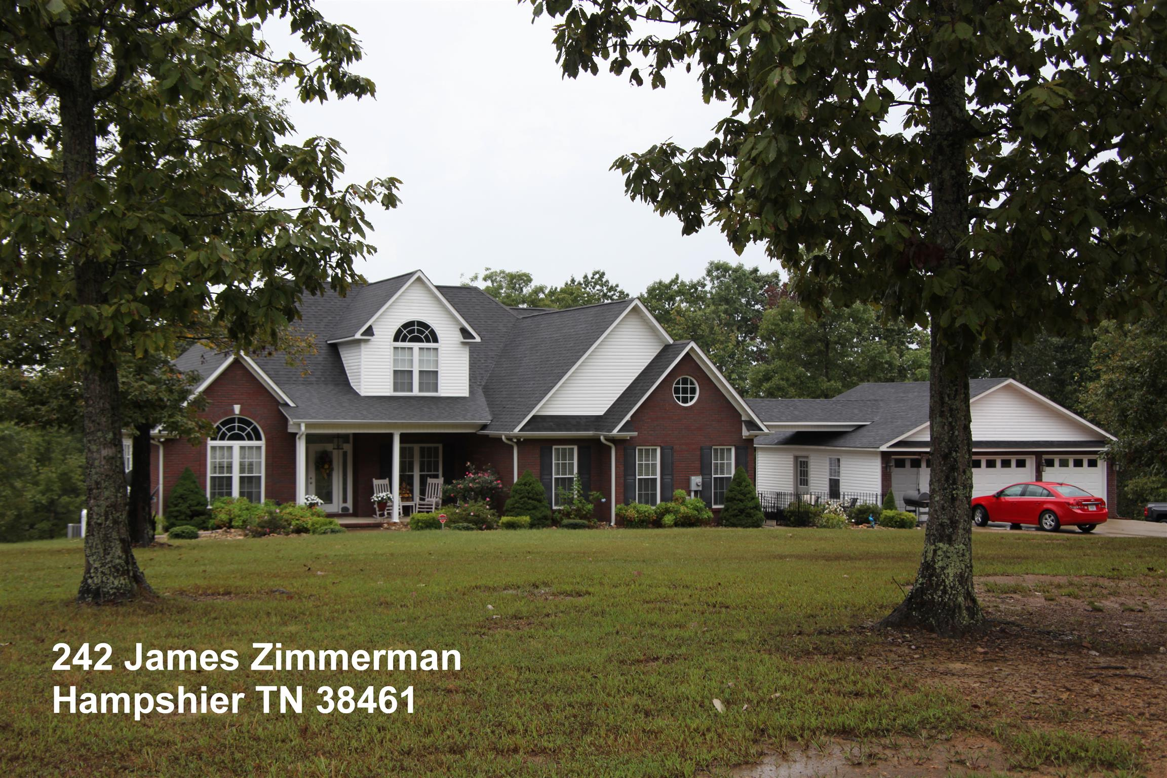 242 JAMES ZIMMERMAN RD Hampshire, TN 38461