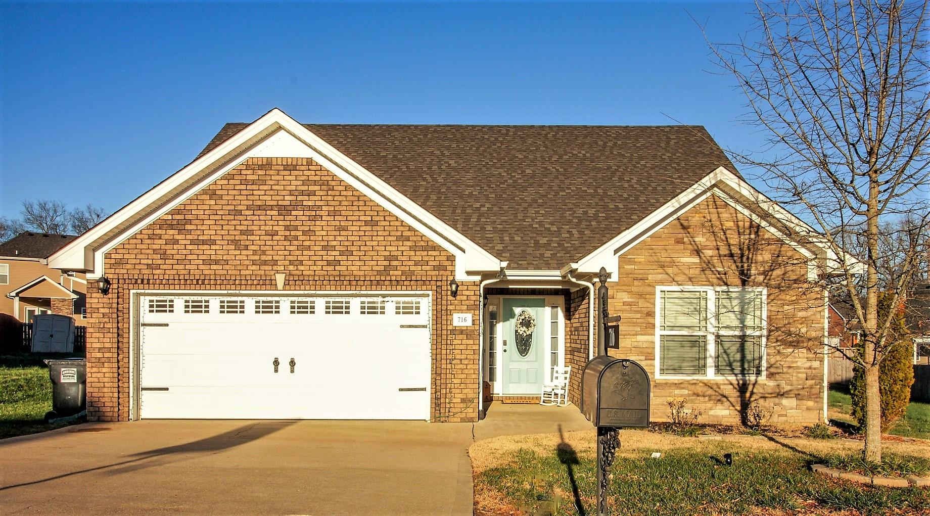 716 Elm St, Clarksville in Montgomery County County, TN 37040 Home for Sale