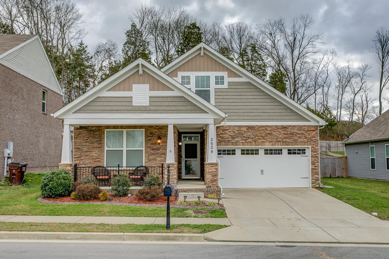 2604 Thicket Ridge Ct, Hermitage in Davidson County County, TN 37076 Home for Sale