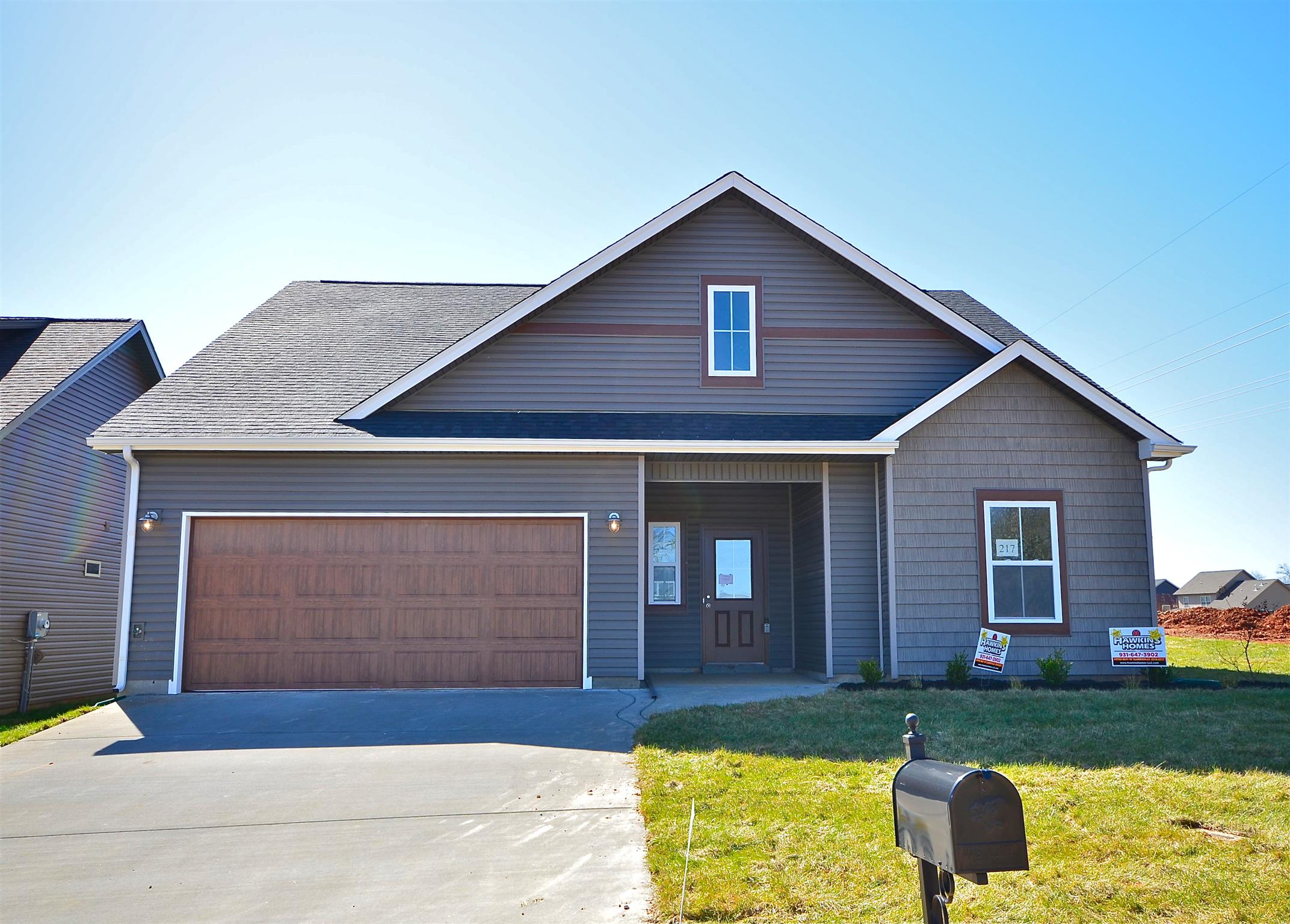 217 Eagles Bluff, Fort Campbell in Montgomery County County, TN 37040 Home for Sale
