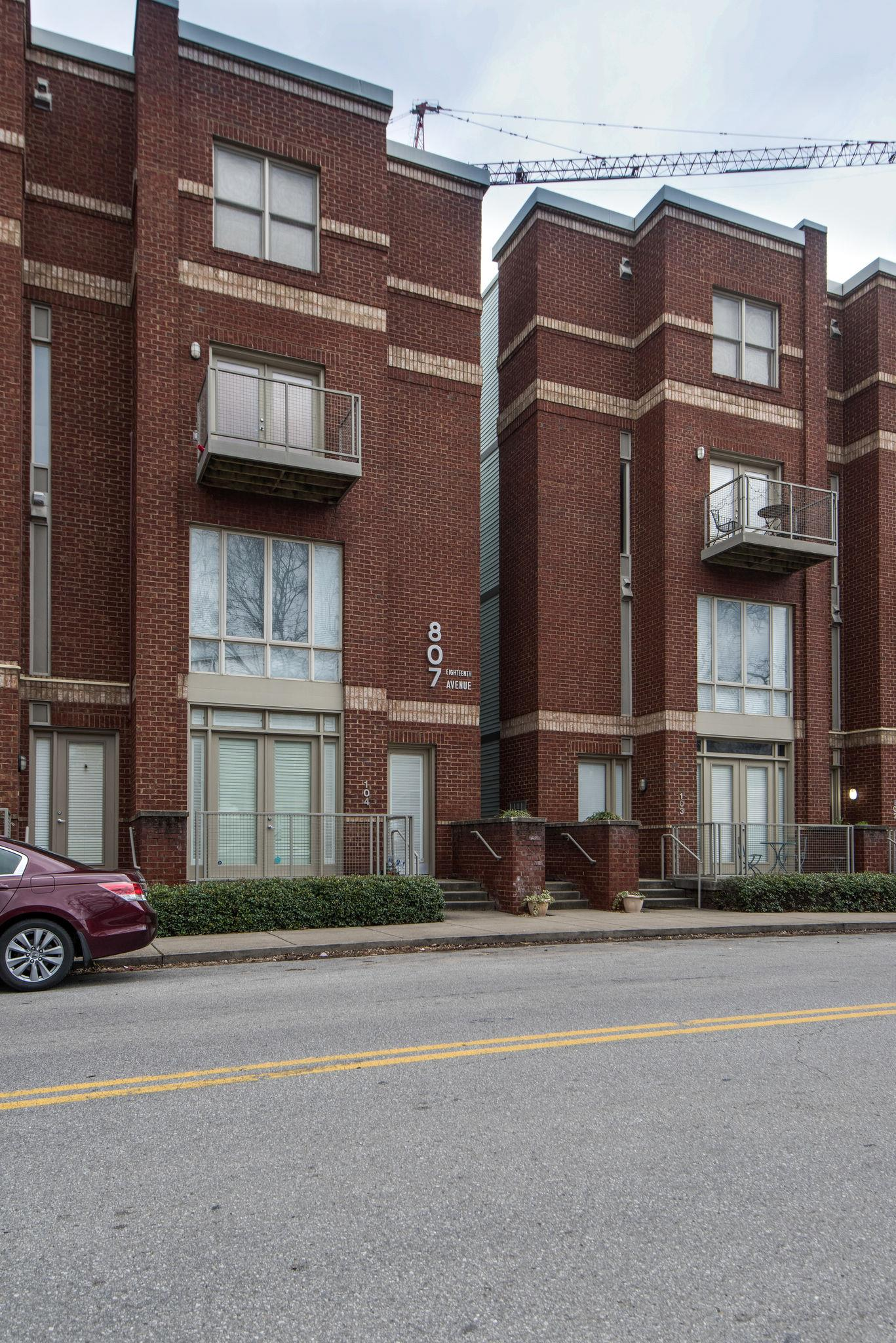 807 18Th Ave S Apt 108, Nashville - Midtown in Davidson County County, TN 37203 Home for Sale