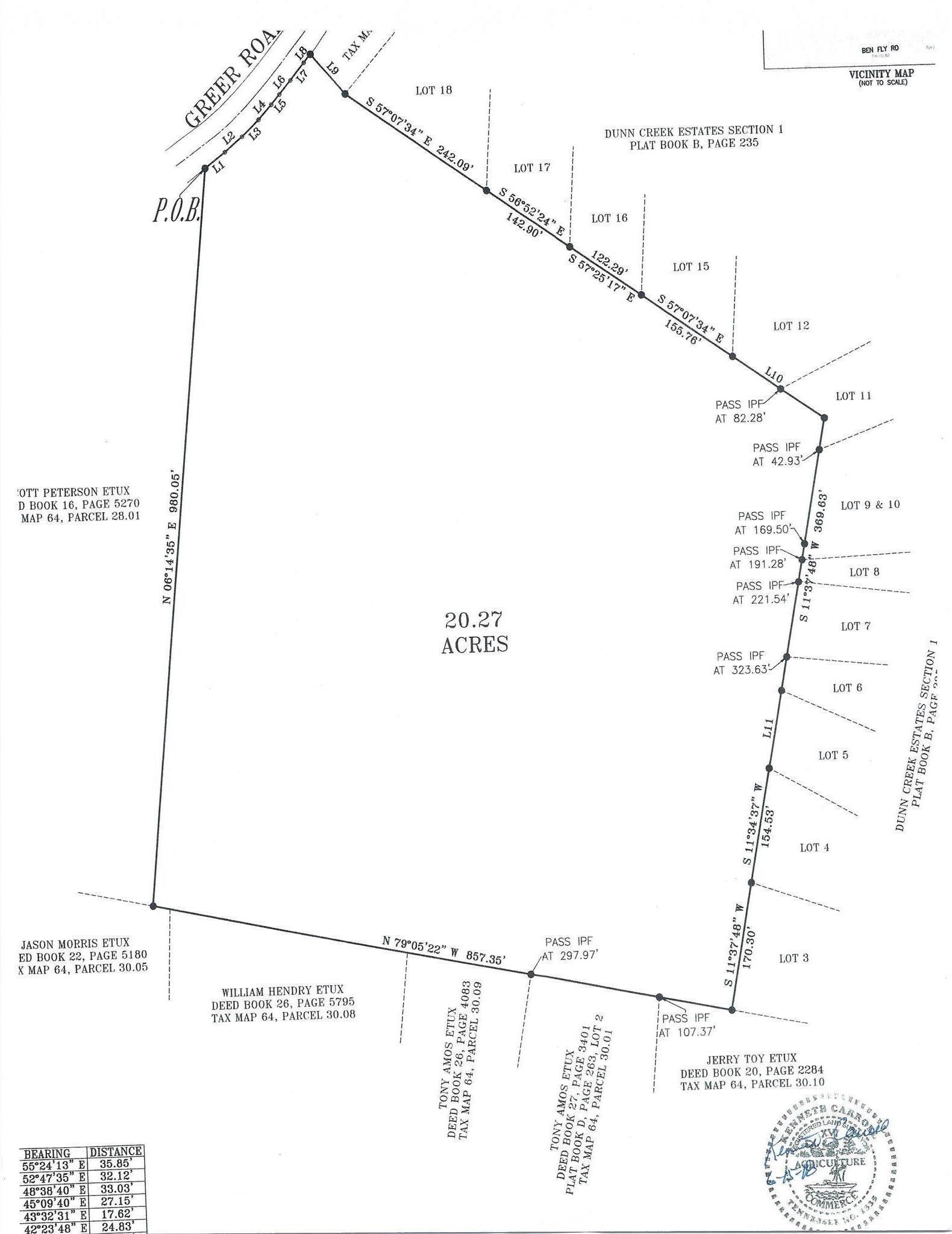 0 Greer Rd Lyles, TN 37098