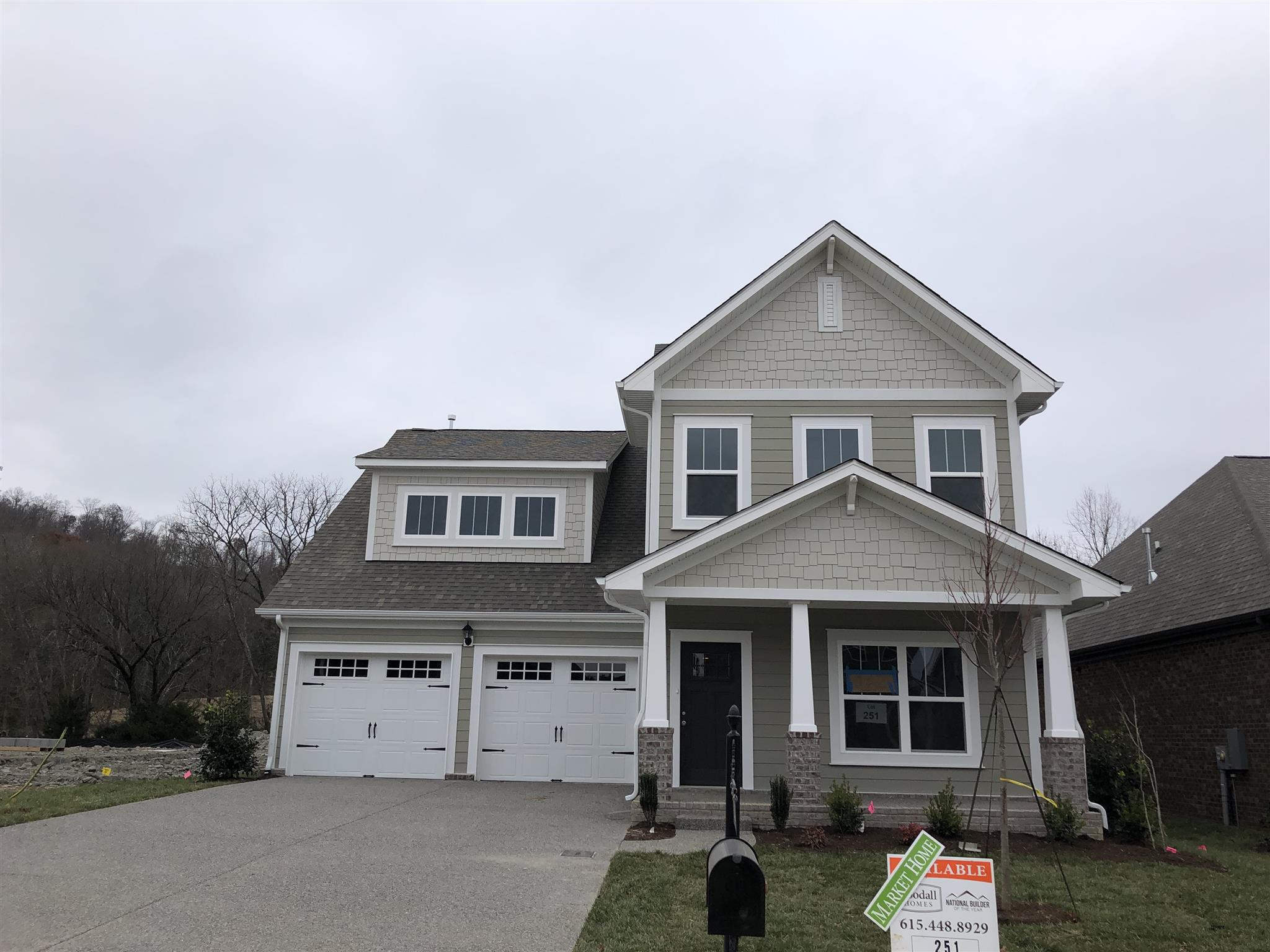 162 Monarchos Drive - Lot 251 37066 - One of Gallatin Homes for Sale