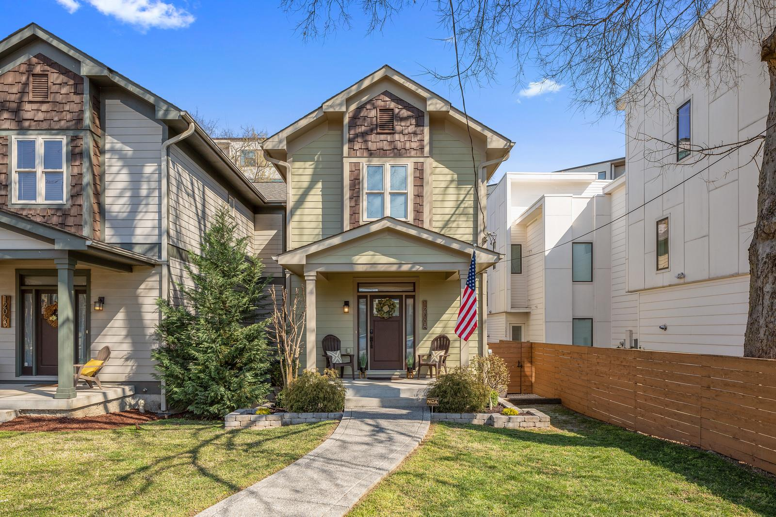 1206A Sigler St, Nashville - Midtown in Davidson County County, TN 37203 Home for Sale
