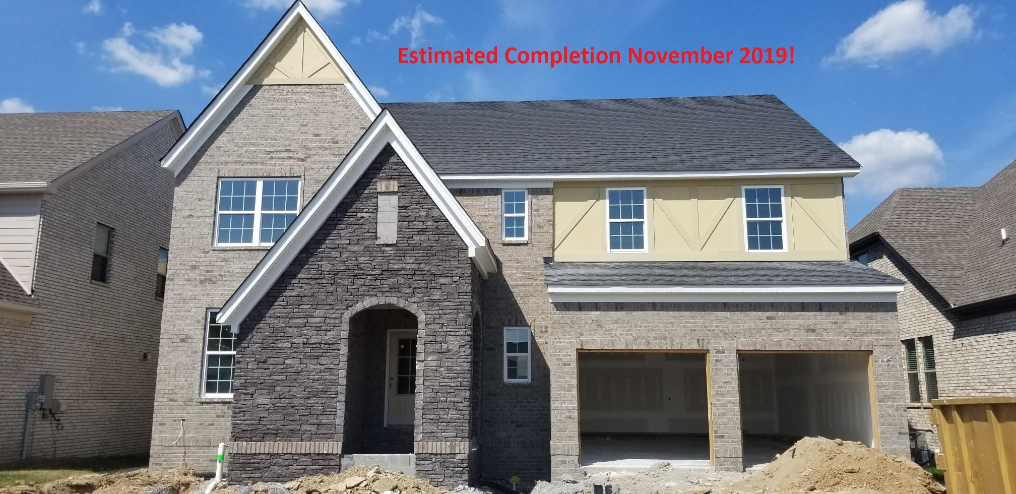 1816 Apperley Drive, Lot 128, Nolensville in Williamson County County, TN 37135 Home for Sale