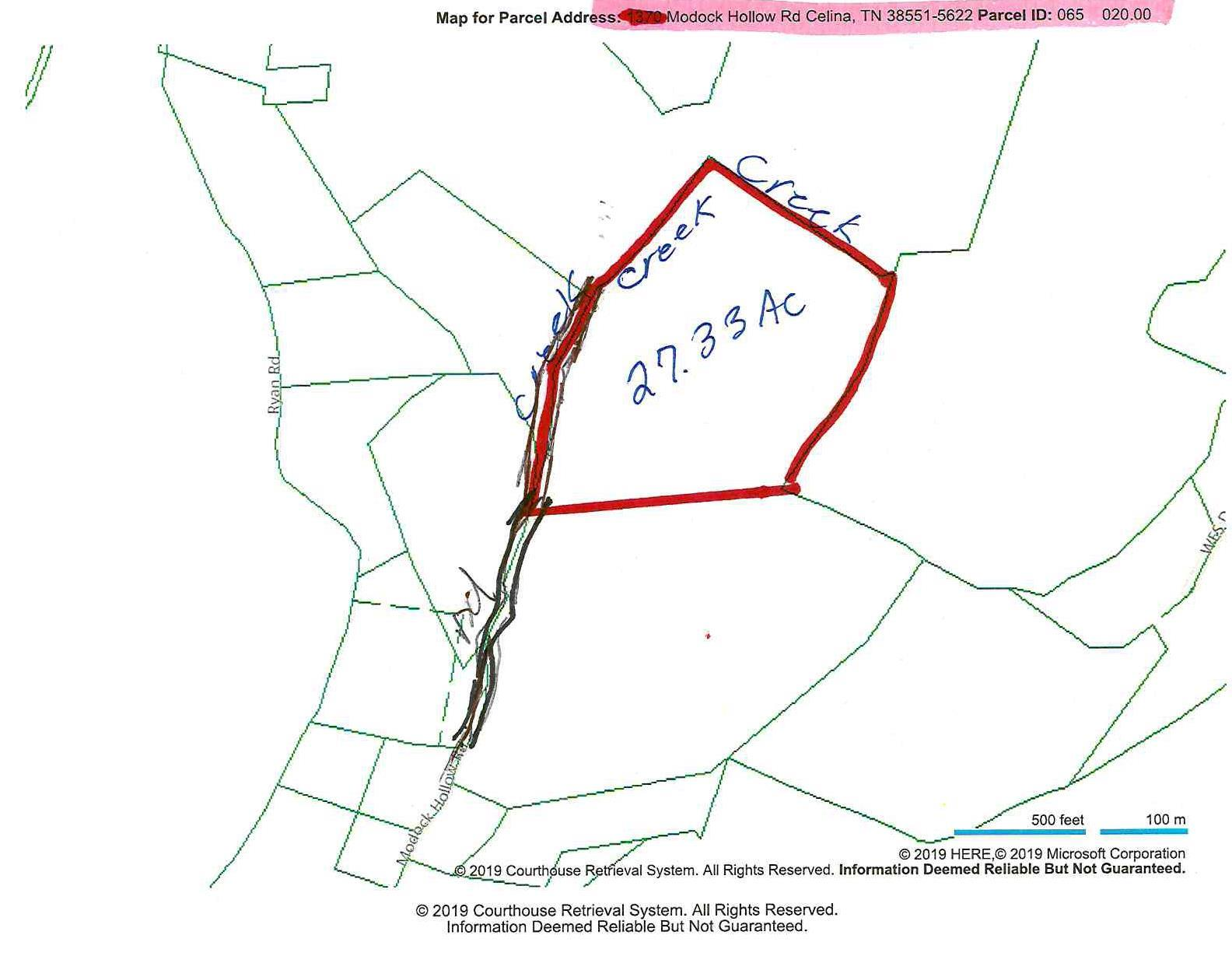 27 .33ac Modock Hollow Rd Celina, TN 38551