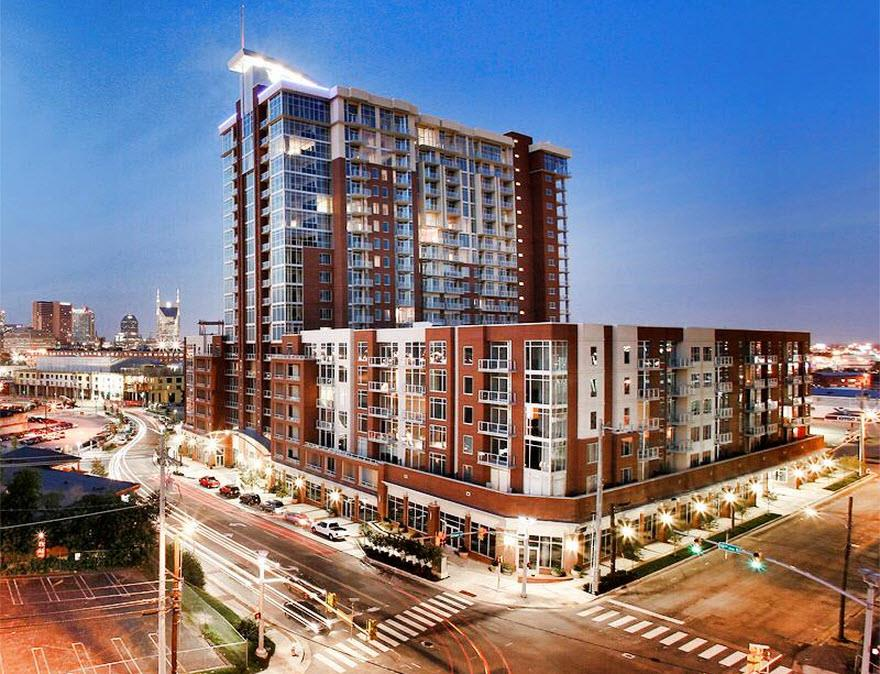 One of Nashville - Midtown 1 Bedroom Homes for Sale at 600 12th Avenue South #526
