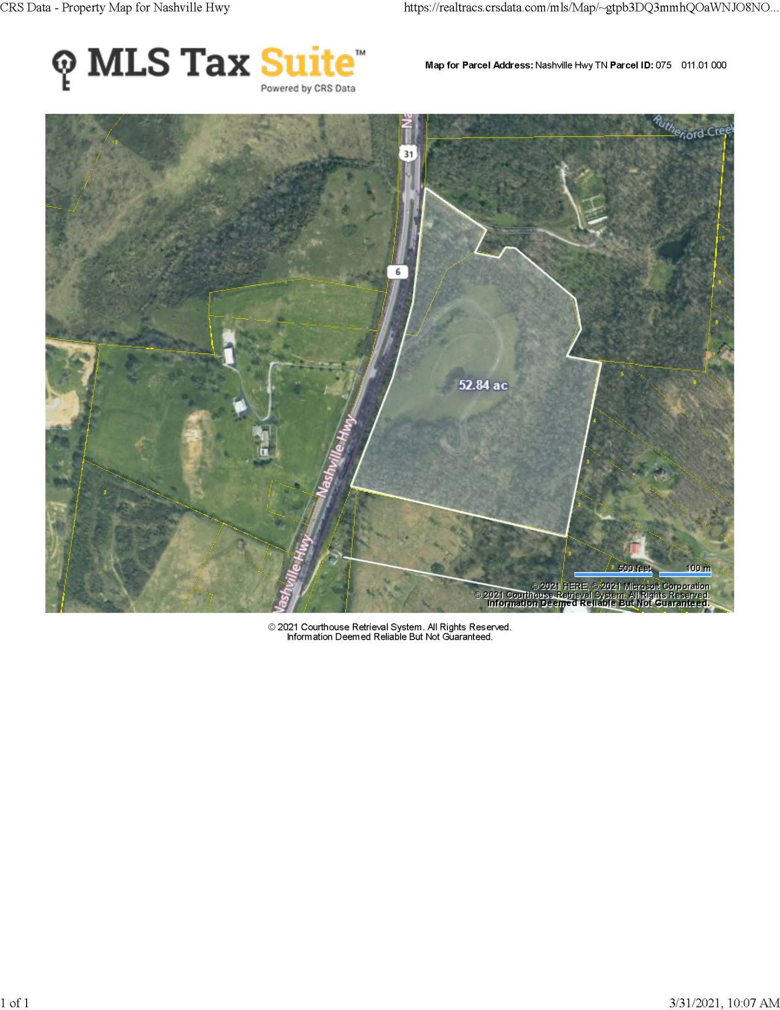 0 Nashville Hwy, Columbia, Tennessee 0 Bedroom as one of Homes & Land Real Estate