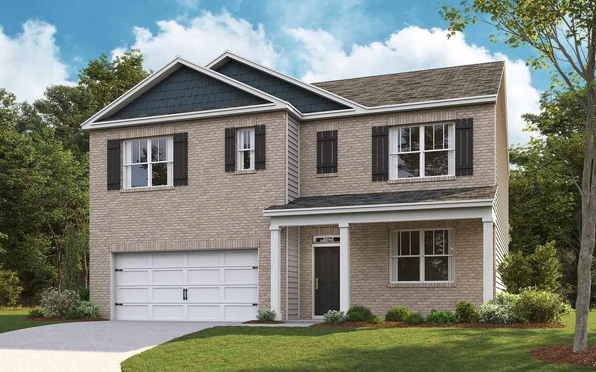 One of Spring Hill 5 Bedroom Homes for Sale at 1411 Marigold Drive, Lot 350